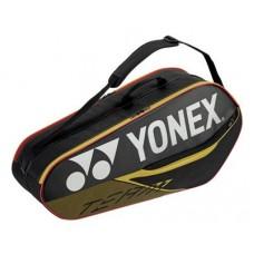 YONEX TEAM 6PACK 26064 BLACK TENNIS BAG