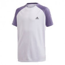 ADIDAS CLUB TEE FK7155 PURPLE BOYS TENNIS T-SHIRT