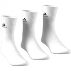 ADIDAS CUSHION CREW 3 PAIR PACK DZ9356 WHITE