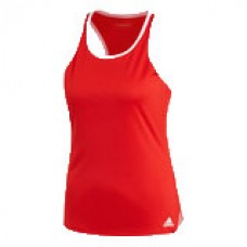 ADIDAS CLUB TANK EJ7048 SCARLET LADIES TENNIS TOP