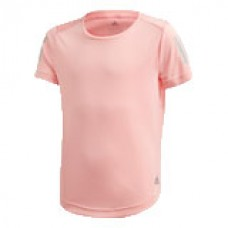 ADIDAS JG OT RUN TEE FM5845 GLOW PINK GIRLS T-SHIRT