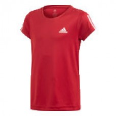 ADIDAS YG TRAIN EQ TEE ED6290 ACTIVE MAROON GIRLS