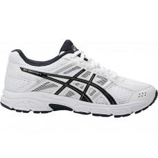 ASICS GEL CONTEND 4 C707N-0190 WHITE BOYS RUNNING SHOE