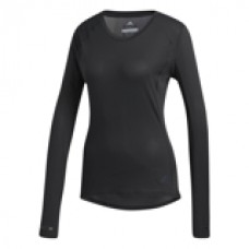 ADIDAS SUPERNOVA LS T-SHIRT BLACK LADIES CG1093