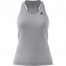 ADIDAS PRIME 3 STRIPE TANK GREY HEATHER LADIES DU3454