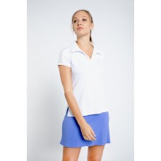 ELEVEN MENTOR WHITE POLO TOP CP1074