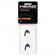 "HEAD 2.5""INCH WHITE WRISTBAND"
