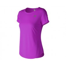 NEW BALANCE T-SHIRT WT91136 VVL LADIES VOLTAGE VIOLET