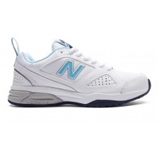 NEW BALANCE WX624WB5 D WIDE WHITE LADIES CROSS TRAINING