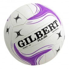 GILBERT PULSE SIZE-4 JUNIOR NETBALL WHITE