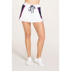 "ELEVEN MIRROR SKIRT13"" 657 WHITE/NAVY/PINK"