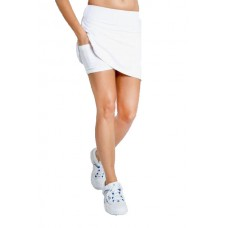 "ELEVEN MOTION SKIRT 16"" WHITE LADIES TENNIS SKIRT"
