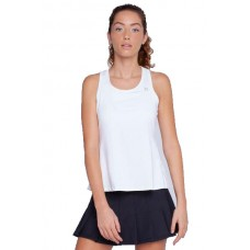 ELEVEN RACE DAY TANK 100 WHITE LADIES TENNIS TOP