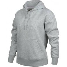 NEW BALANCE VOLUME FLEECE HOODIE  ATHLETIC GREY LADIES RWT9125