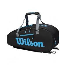 WILSON ULTRA 9PACK WR8009401001 BLACK TENNIS BAG